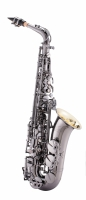 Saksofon altowy LC Saxophone A-701BD black plated finish