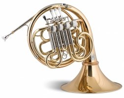 Waltornia podwójna F/B Stomvi Titan Seis Geyer gold brass lakierowana