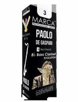 Stroiki do klarnetu basowego Marca Professional Series Paolo de Gaspari