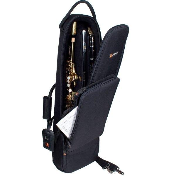 Futerał na klarnet B/saksofon sopranowy/flet poprzeczny Protec C250