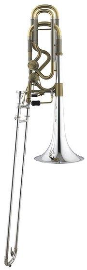 Puzon basowy Bb/F/Gb/D Stomvi TB5500-GB Titan gold brass