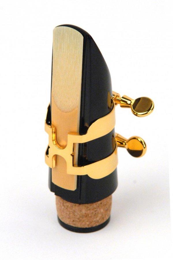 Ligaturka do klarnetu B/A Rico H pozłacana