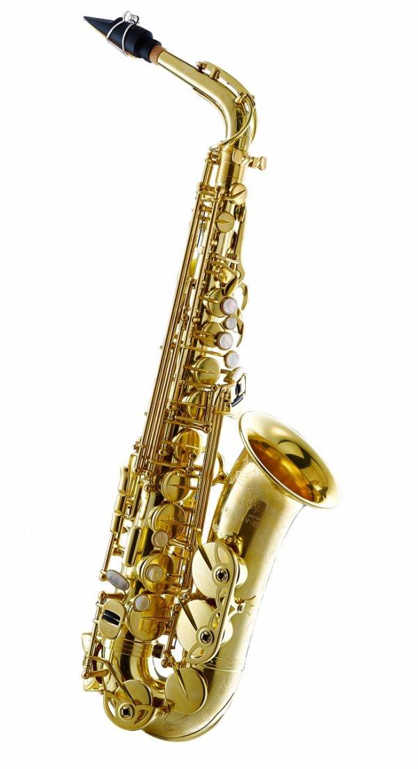 Saksofon altowy Forestone bez lakieru, zdobiony, SX straight tone holes