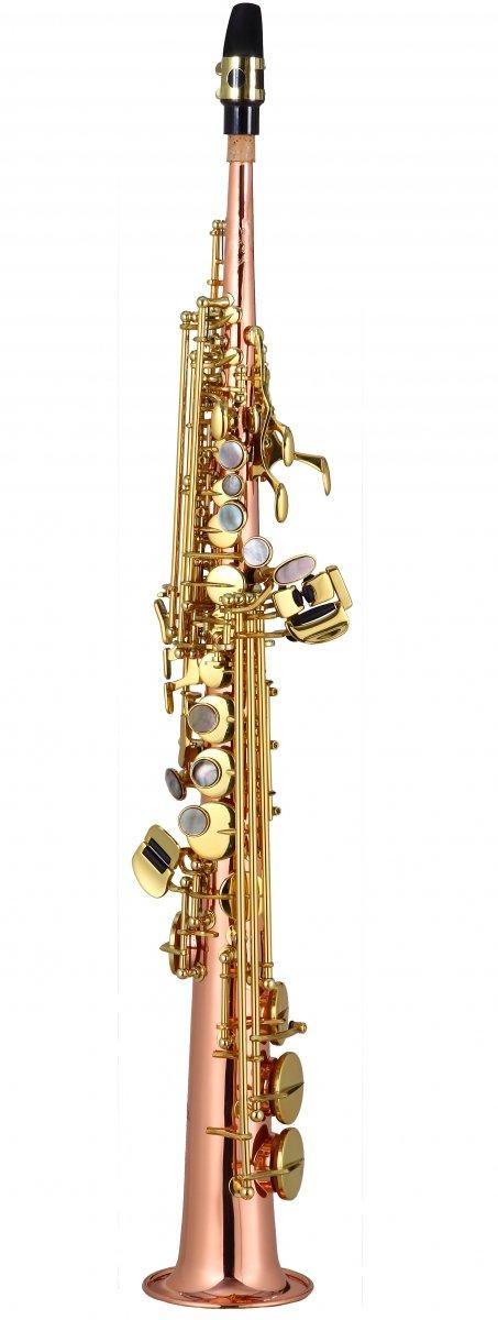 Saksofon sopranowy LC Saxophone SU-703CL clear lacquer