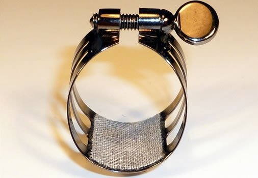 Ligaturka do klarnetu B/A Ligaphone CL.AS Black-silvered