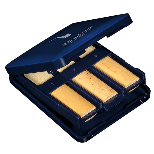 Pudełko na stroiki do klarnetu altowego Vandoren Reedcase VRC620