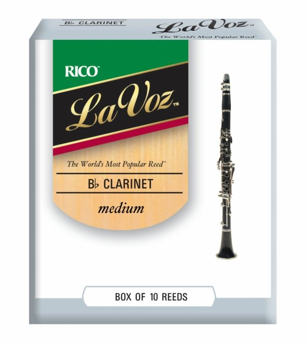 Stroiki do klarnetu B/A Rico La Voz
