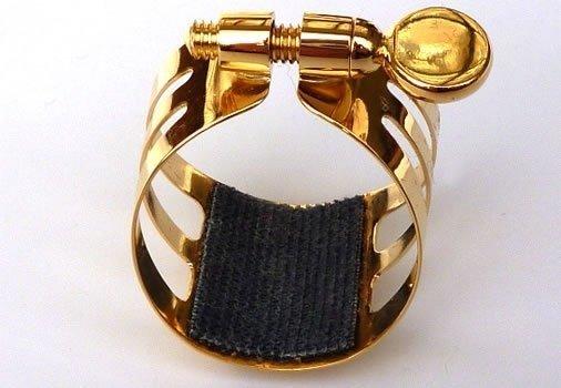 Ligaturka do klarnetu B/A Ligaphone CL.AS Gold-lacquered