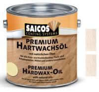 Wosk Twardy Olejny Premium Saicos 0,75l Biały Transparentny