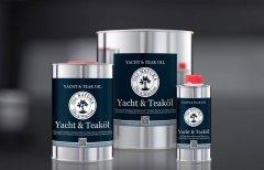 Oli - Natura Yacht & Teaköl olej do tarasów 1 litr NATURALNY