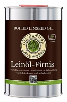 Olej lniany do drewna Oli-Natura Leinöl-Firnis 1 L