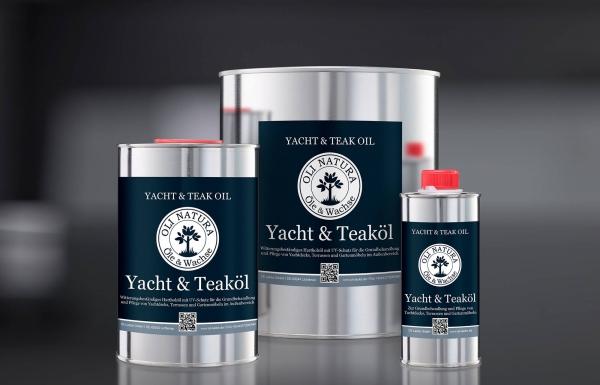 Olej zewnętrzny Oli-Natura Yacht&Teaköl olej do tarasów