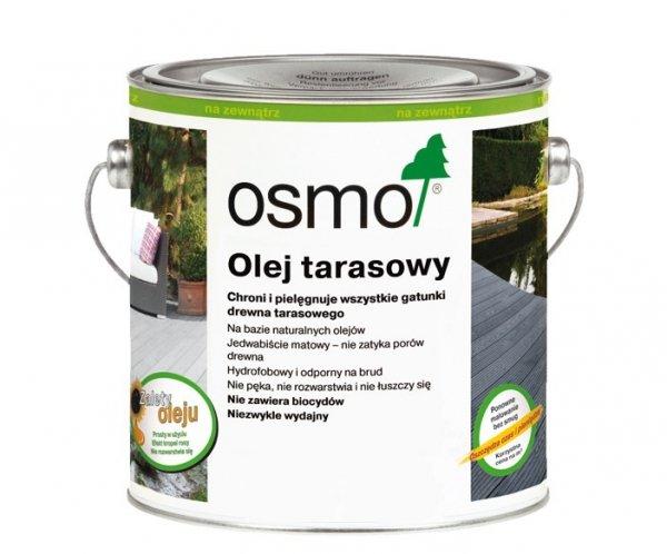 Olej Tarasowy Osmo 019 opak. 2,5 L SZARY