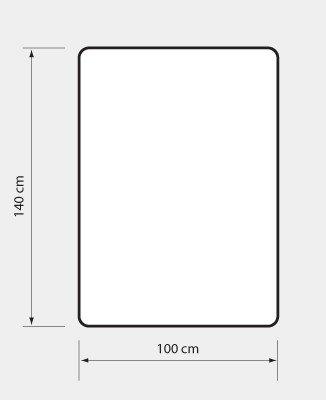 Mata ochronna prostokątna (100x140 cm) EXTRAGRUBA