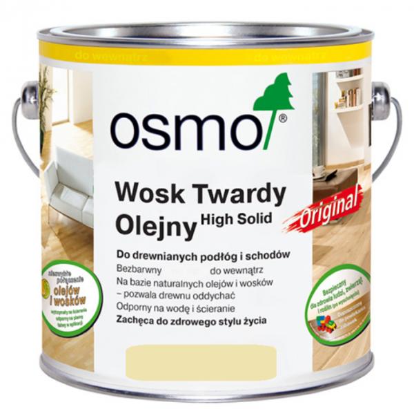 Wosk Twardy Olejny Osmo 3041 opak. 2,5 L EFEKT SUROWEGO DREWNA