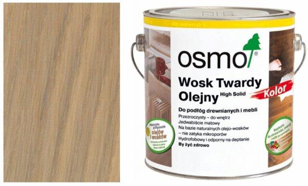 Wosk Twardy Olejny Osmo 3040 opak. 0,75 L BIAŁY TRANSPARENTNY