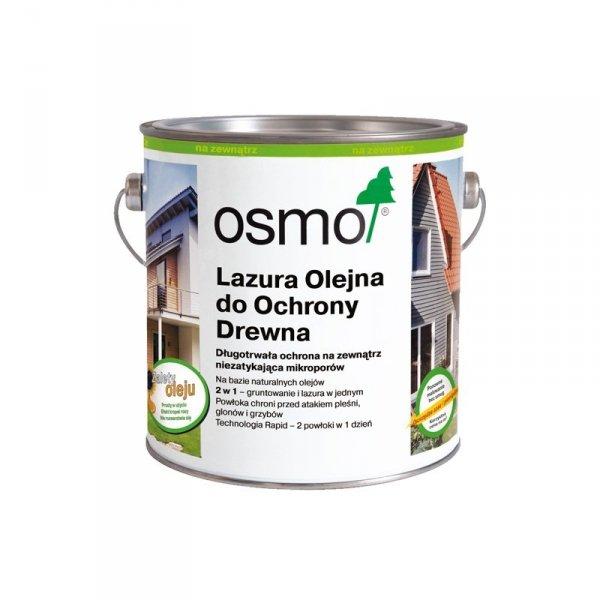 Osmo Lazura Olejna do Ochrony Drewna 707 opak.  2,5 L (orzech)