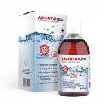 Argentum200 Srebro koloidalne tonik 500ml Aura Herbals