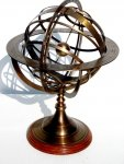 Wielkie astrolabium mosiężne ARM-0039