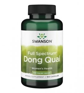SWANSON Dong Quai 530mg 100 kaps SW533
