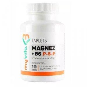 MyVita Magnez + B6 P-5-P  100 tabl.