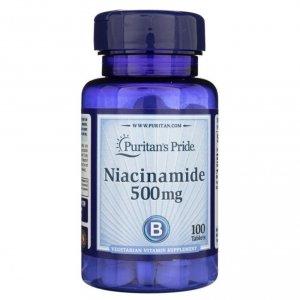Niacinamide 500mg 100tabs Puritan's Pride