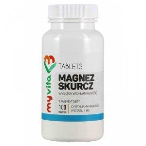 MyVita Magnez skurcz - 100 tabl.