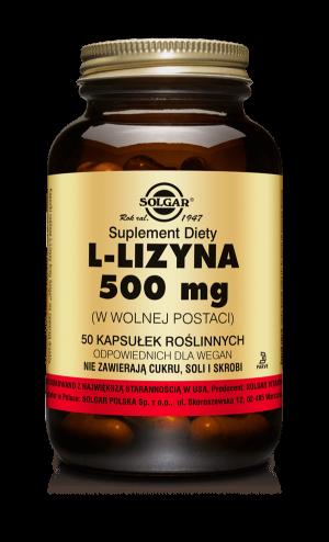 Solgar L-lizyna 500 mg