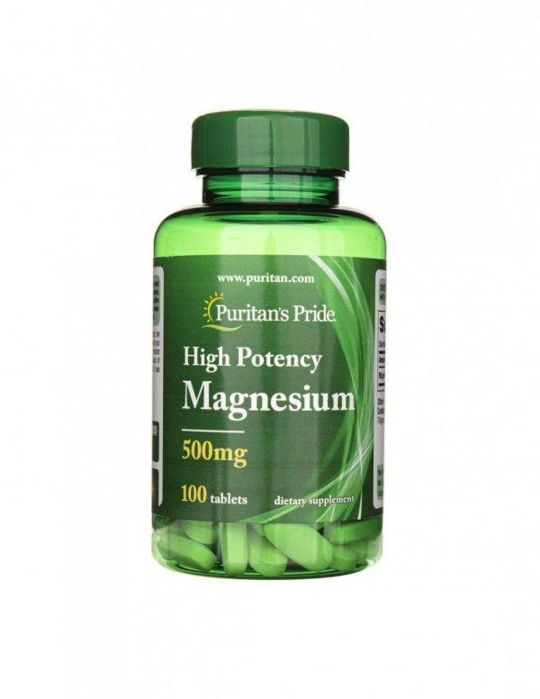 Magnesium 500mg 100tabs Puritan's Pride
