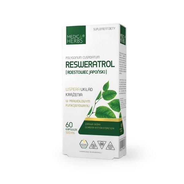 Medica Herbs Resweratrol (Rdestowiec japoński)