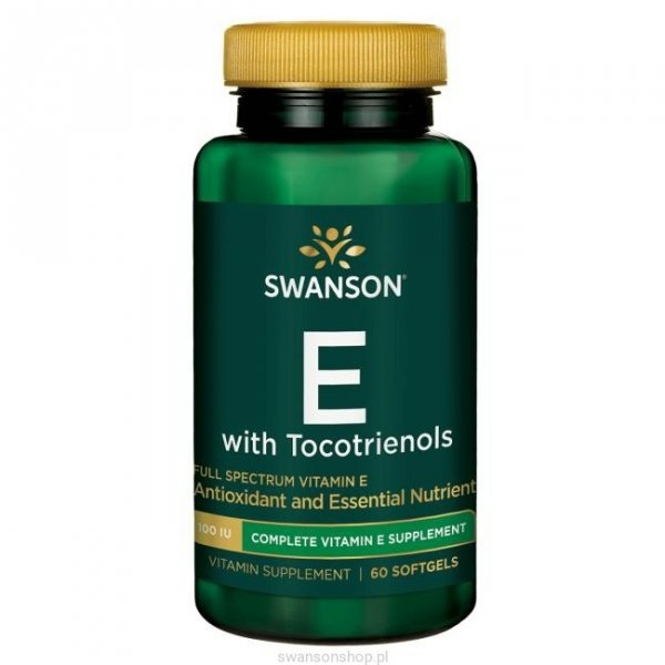 SWANSON FS E z tokotrienolami 60 kaps SWU156