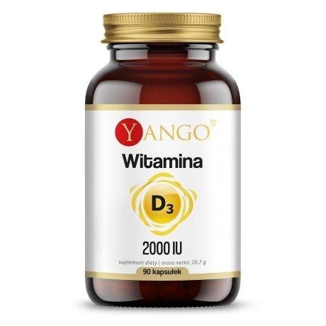 Yango Witamina D3  2000 IU 90 kaps