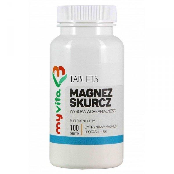 Magnez skurcz - 100 tabletek MyVita