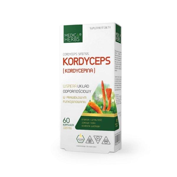 Medica Herbs Kordyceps (Kordycepina)