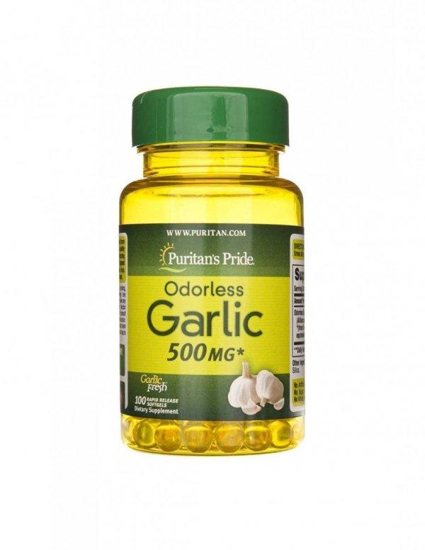 Odorless Garlic 500mg 100caps Puritan's Pride