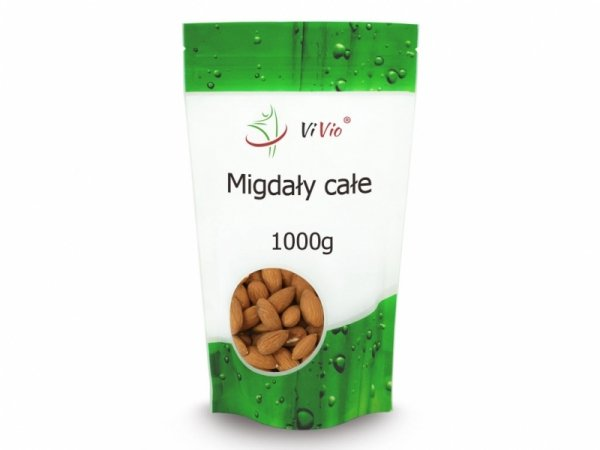 Vivio Migdały Całe 1000g
