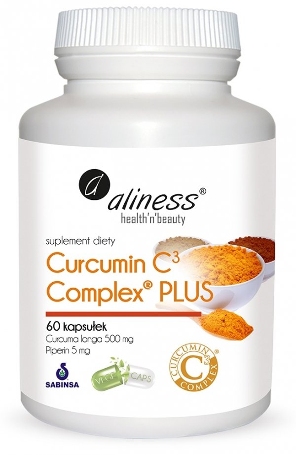 Curcumin C3 complex® PLUS Aliness