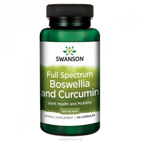Swanson FS Boswellia & Curcumin 60 kaps