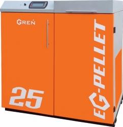 KOCIOŁ PIEC GREŃ EG-PELLET 25 kW