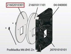 KOSTRZEWA Izolacja drzwiczek przód 10mm Mini Bio 20 kW