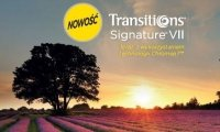Transitions Signature VII  Ormix 1.6 z antyrefleksem Crizal Forte UV