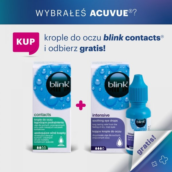 Blink Contacts + Blink Intesive