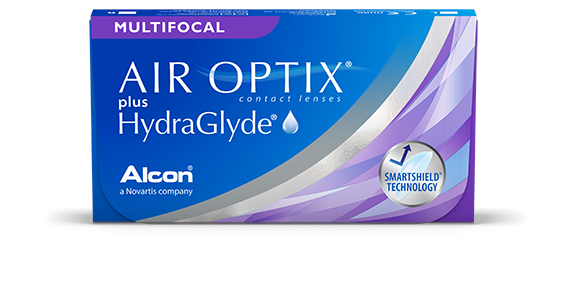 Air Optix plus Hydraglyde Multifocal 3 sztuk