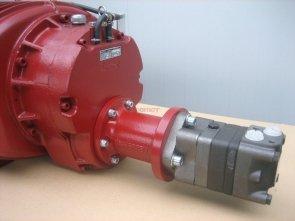 Napęd hydrauliczny do kompresora KD