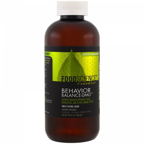 BEHAVIOR BALANCE DMG - syrop 360 ml - FoodScience