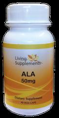 Kwas alfa liponowy ALA 50 mg - 90 kapsułek Alpha Lipoic Acid