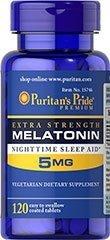 MELATONINA 5 mg - 120 TABLETEK sen bezsenność