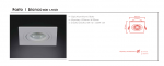 Wpust halogenowy  Fasto I bianco Orlicki Design