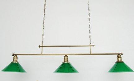 Żyrandol mosiężny JBT Stylowe Lampy WZMB/W34/3ŚD/ 4321