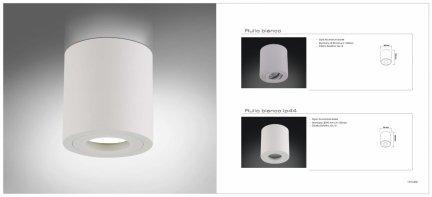 Oprawa natynkowa Rullo bianco IP44 Orlicki Design